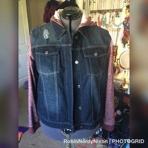 Jean jacket size 3x